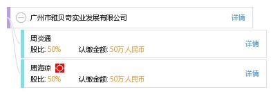广州市雅贝奇实业发展有限公司