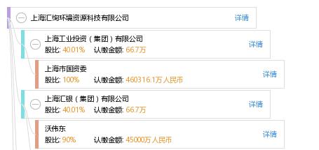 股权结构图谱—上海汇绚环境资源科技有限公司—天眼查