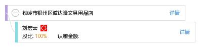 经营者 企业图谱 股权结构图 刘 刘宏云 他有2家公司,分布如下 辽宁