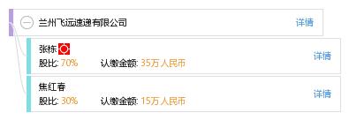 焦 焦红春 他有21家公司,分布如下 陕西共18家 陕西飞远文化传播有限