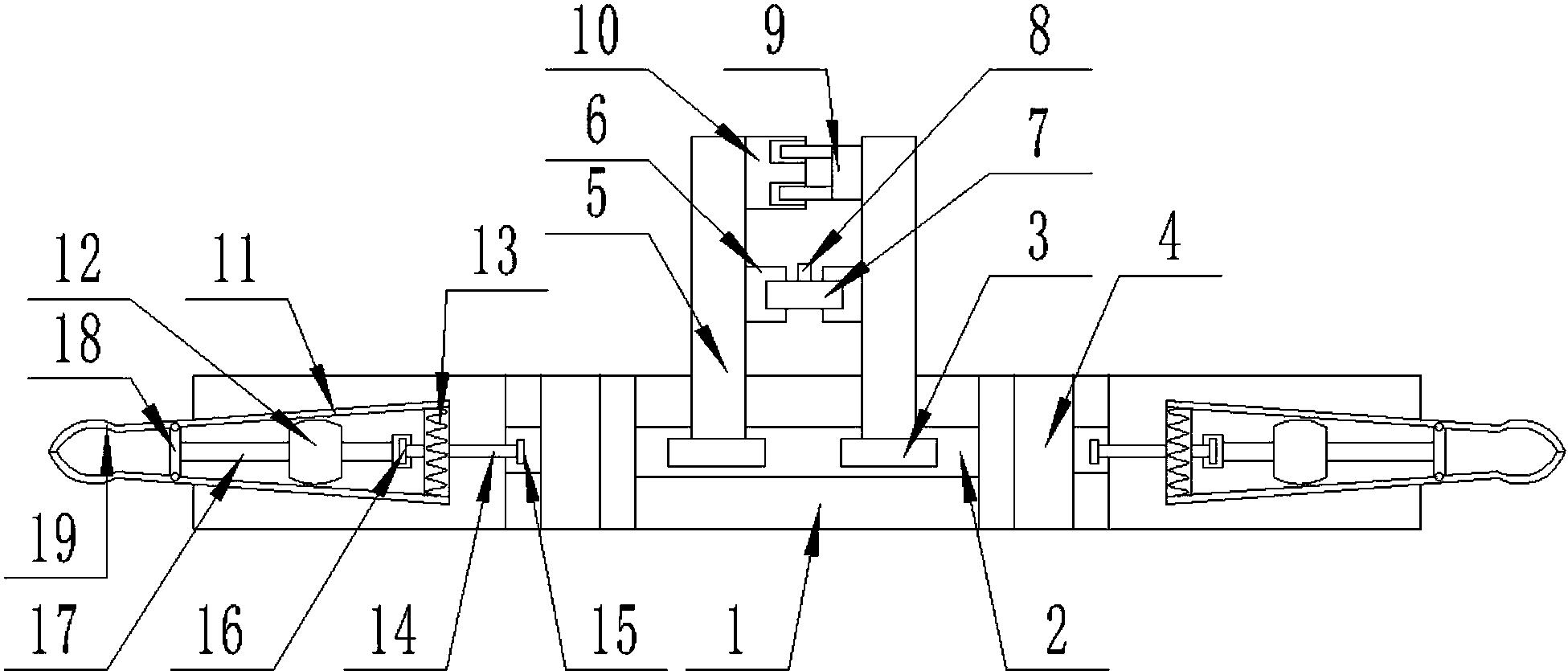 cn107939036a_一种建筑施工用吊篮辅助稳定装置在审