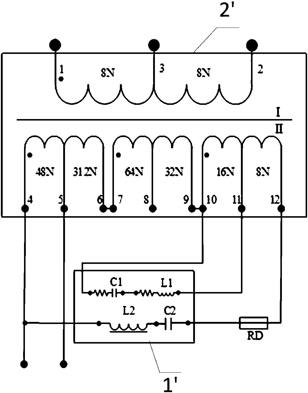 公开(公告)日 1970-01-01 发明名称 一种适配器,抑制轨道电路谐波的装
