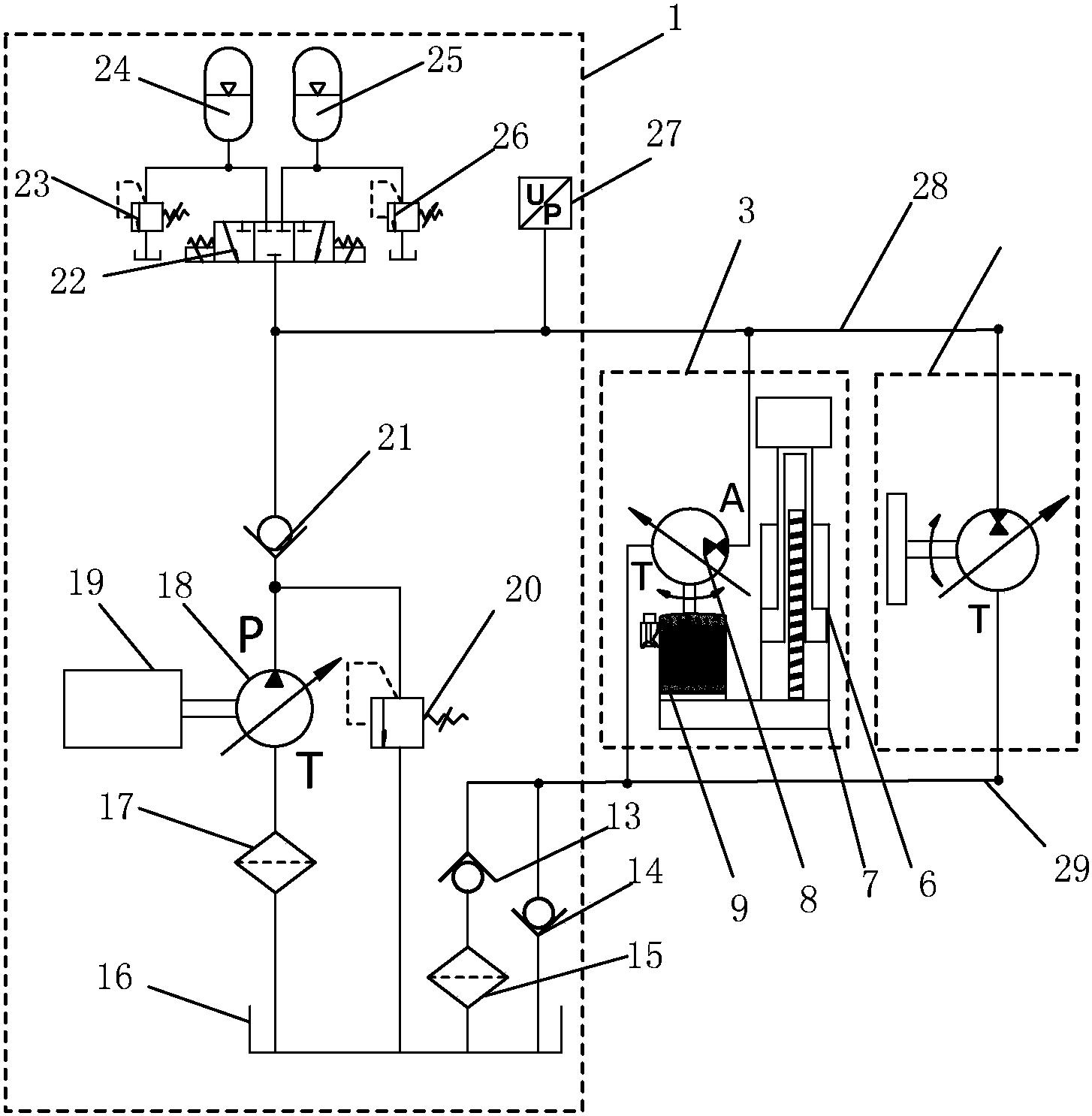一种电液混合驱动的弯管机专利_专利申请于20180525__