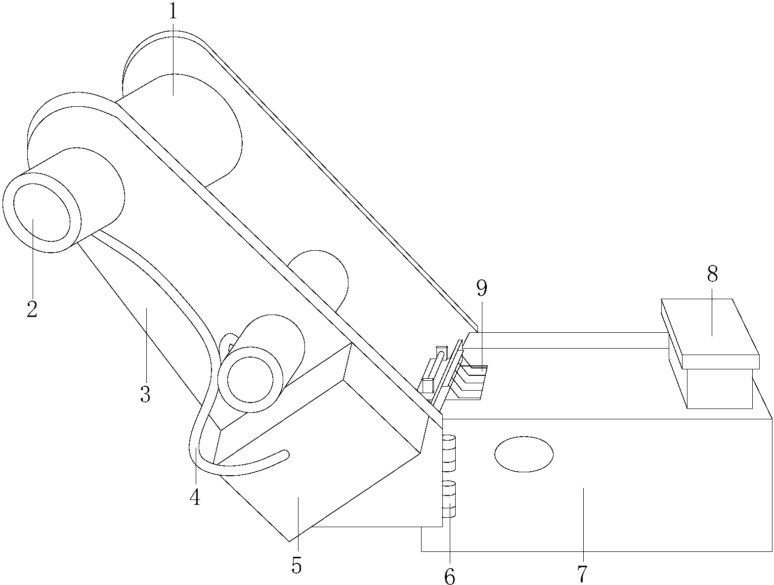 一种缝纫机撑紧装置