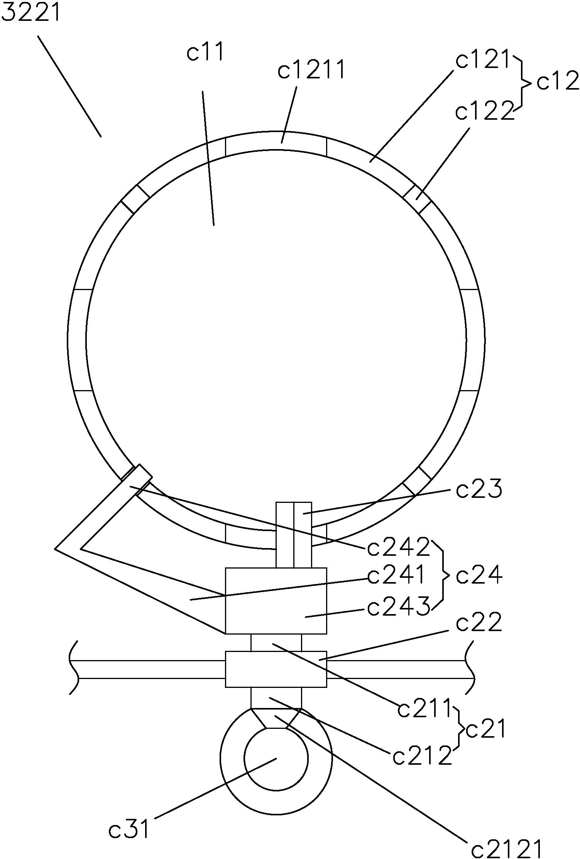 cn108946086a_一种旋切流水线的高精准辨识圆木的输送机构在审