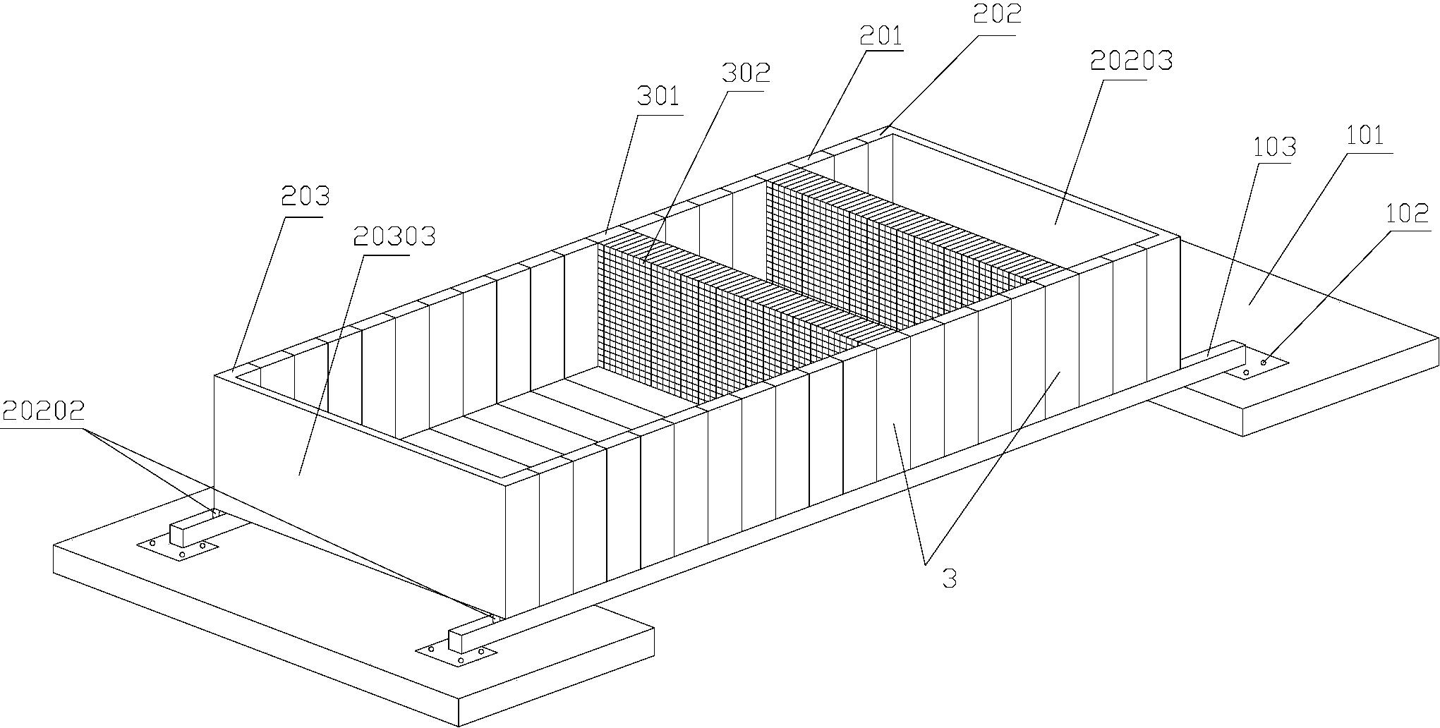 一种模拟多结构面三维形态的岩体制作装置及方法