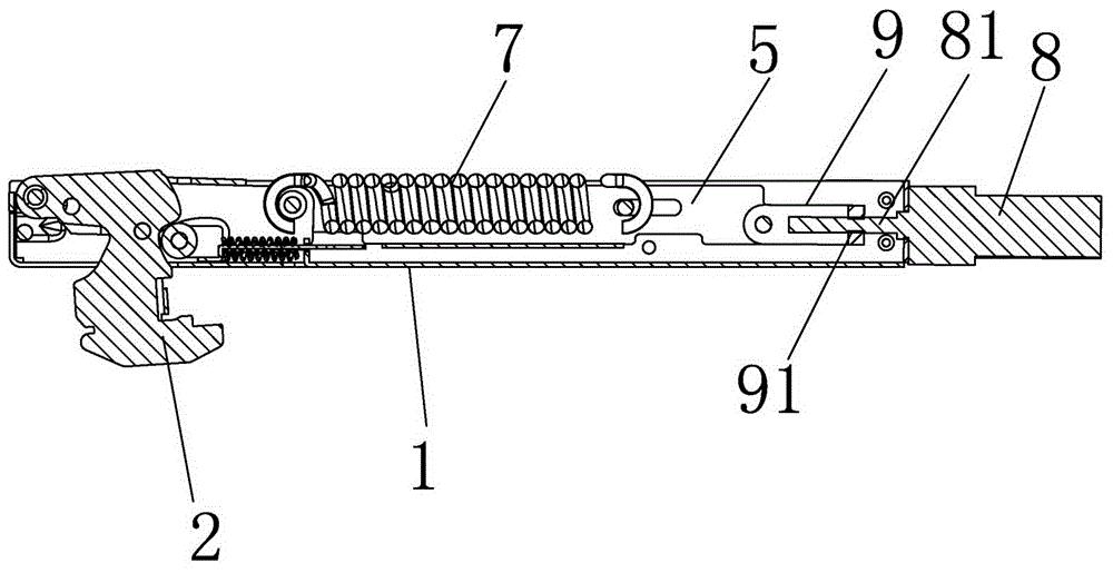 一种具有电动开关门功能的铰链
