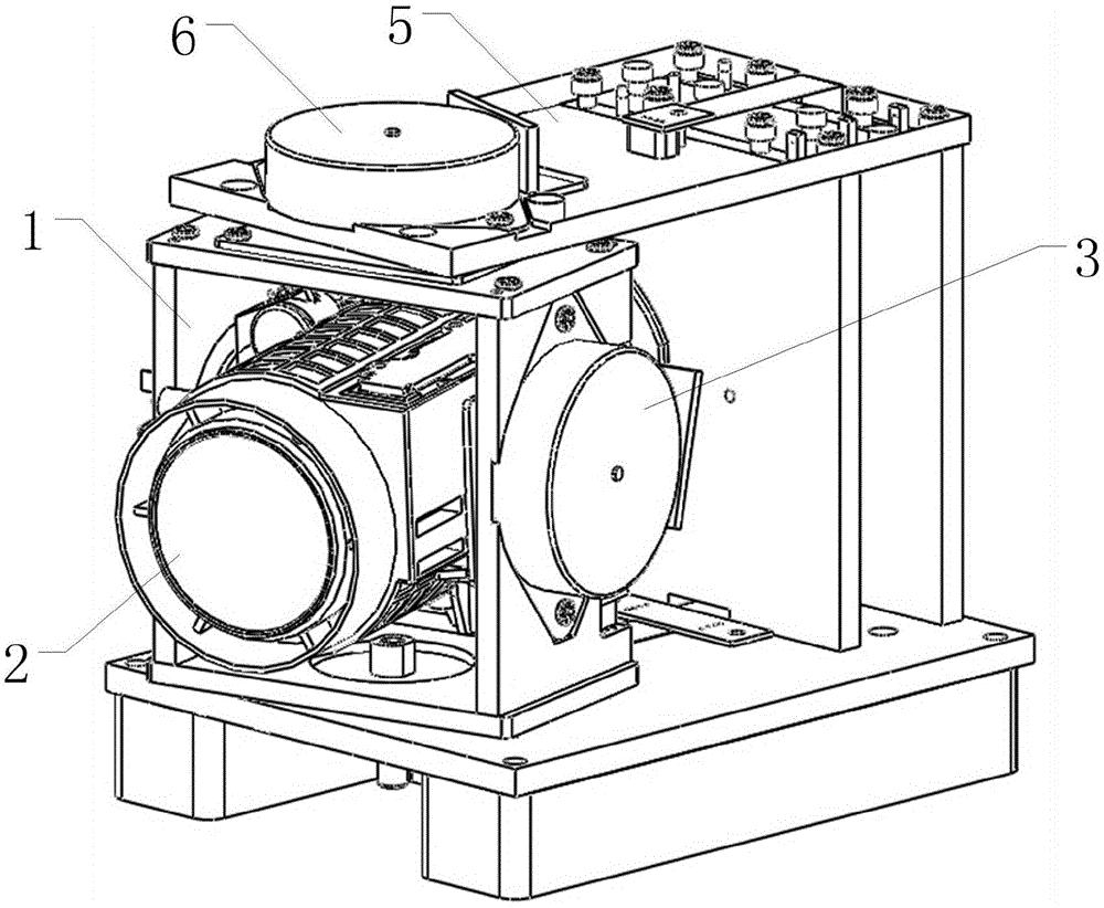 可调朝向的马达驱动式摄像装置