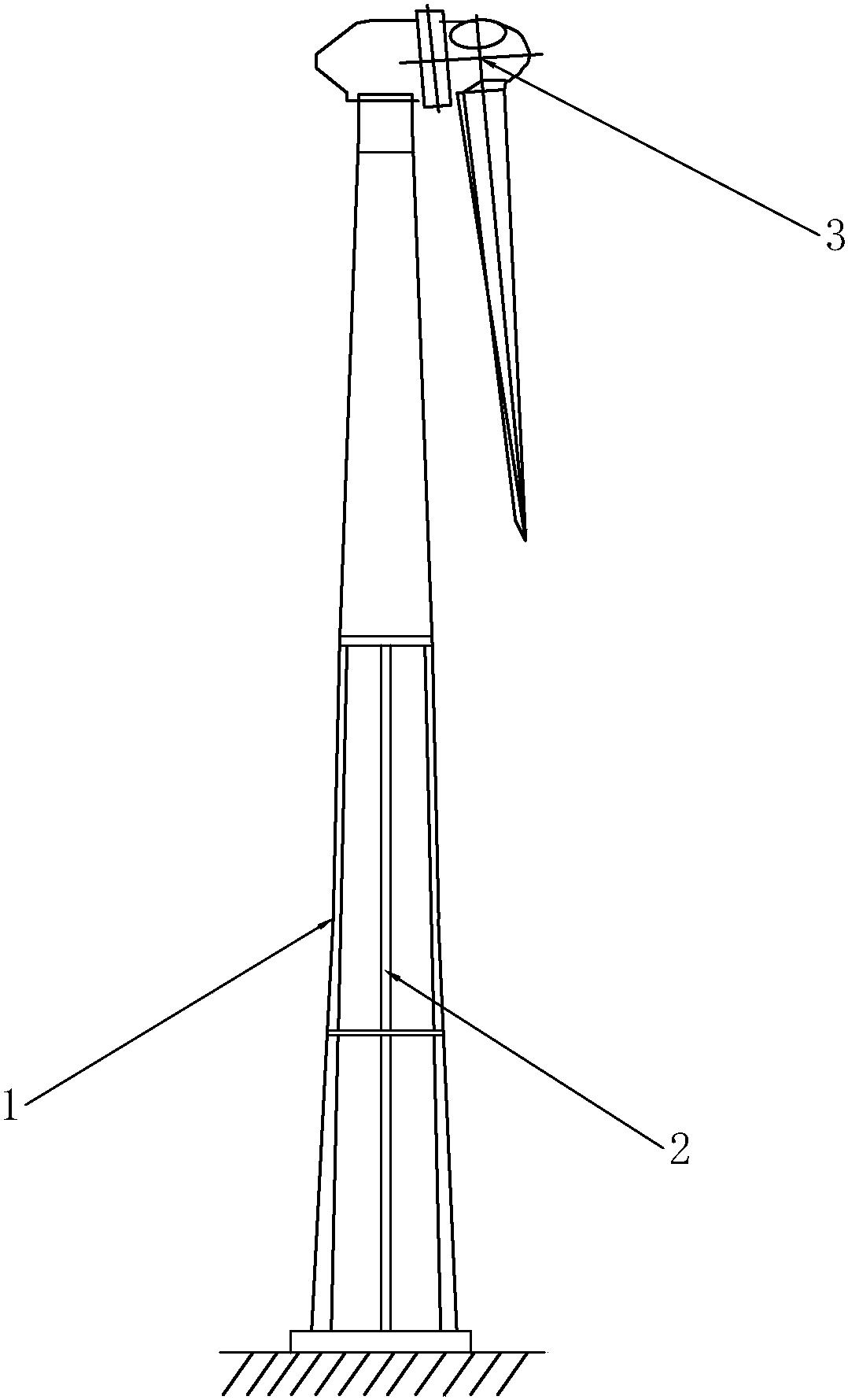 一种新型风电塔筒及包括该塔筒的风电机组
