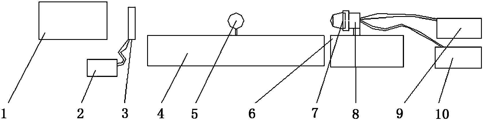 一种线列成像位标器焦面调试设备及调试方法