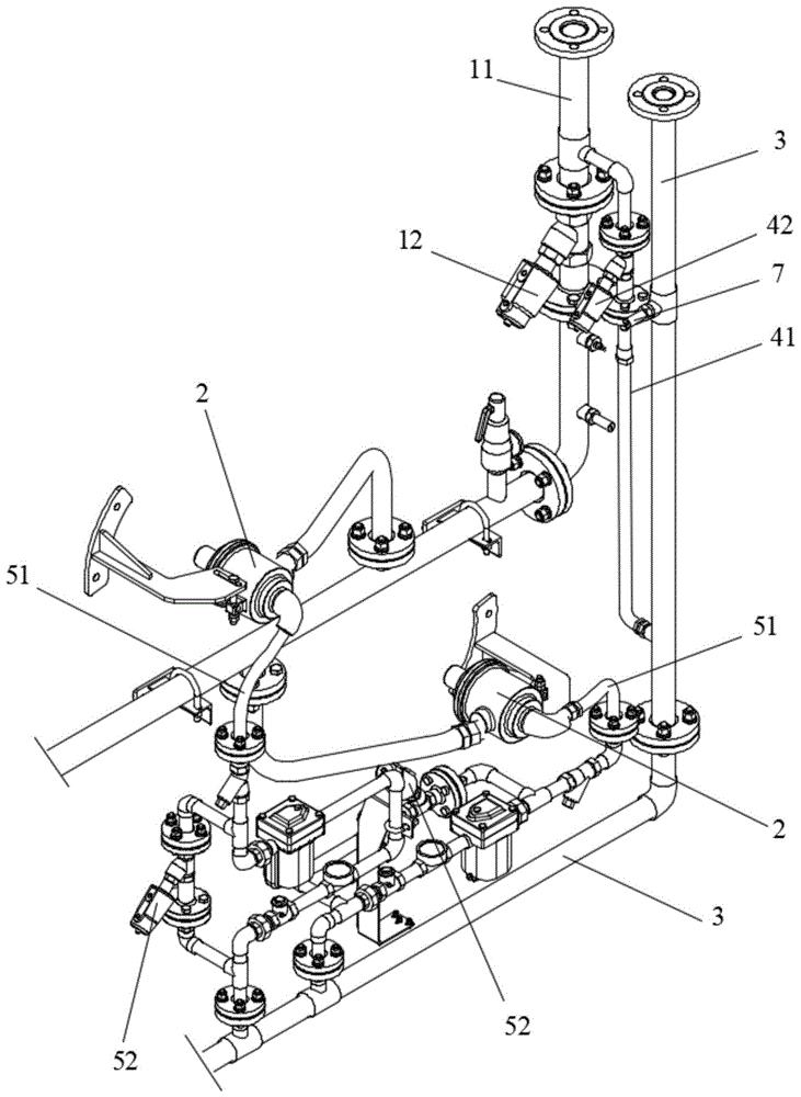 一种熨平机的排水装置及排水方法