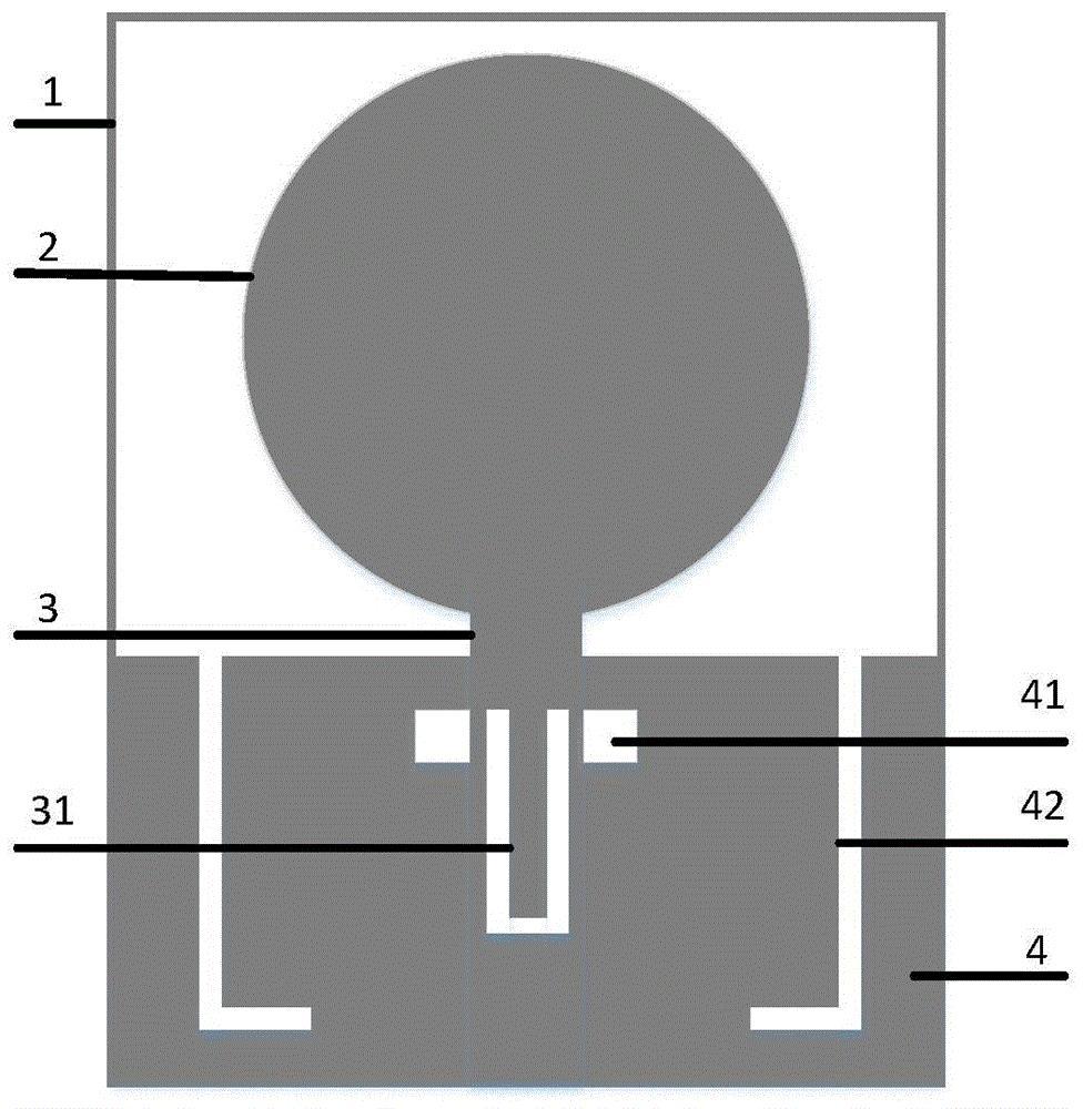 cn110474165a_一种具有双陷波特性的超宽带天线在审图片