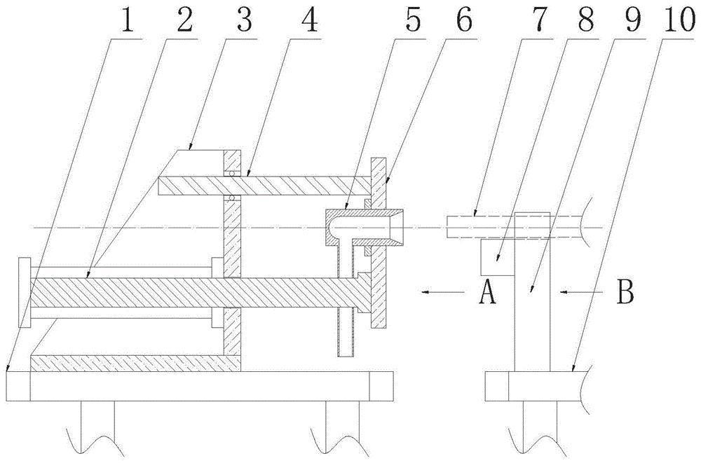 一种双钢管内壁在线风干装置