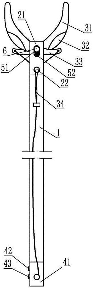 电控式工厂配电线路障碍清理工具