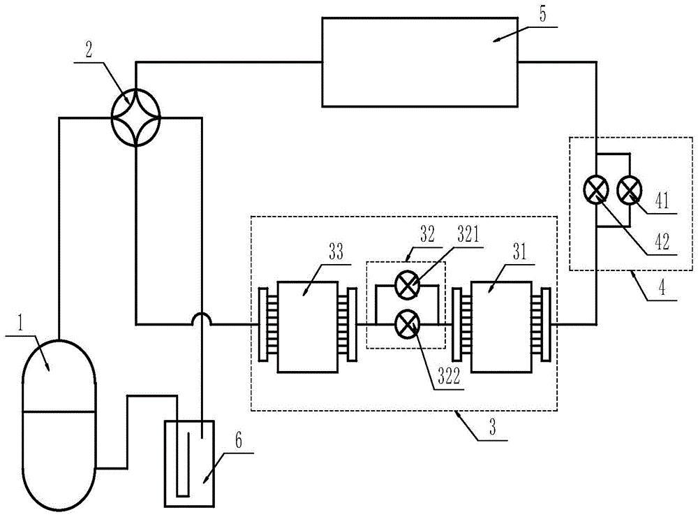 一种风冷换热器组件以及负荷可调节的空调系统