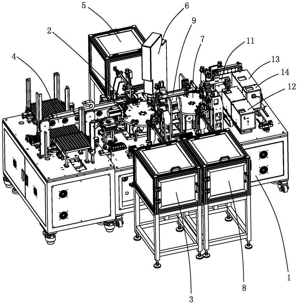 信号接收器组装生产线