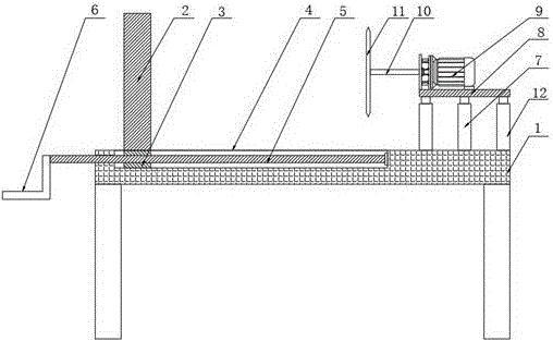 一种家俱木板切割用辅助装置