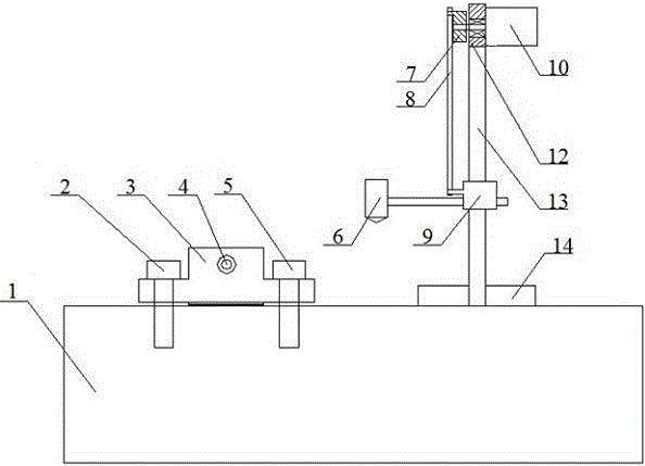 一种测量有涂层结合面参数装置和方法