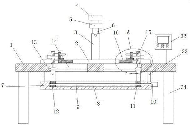 一种钢板定位焊接机器人