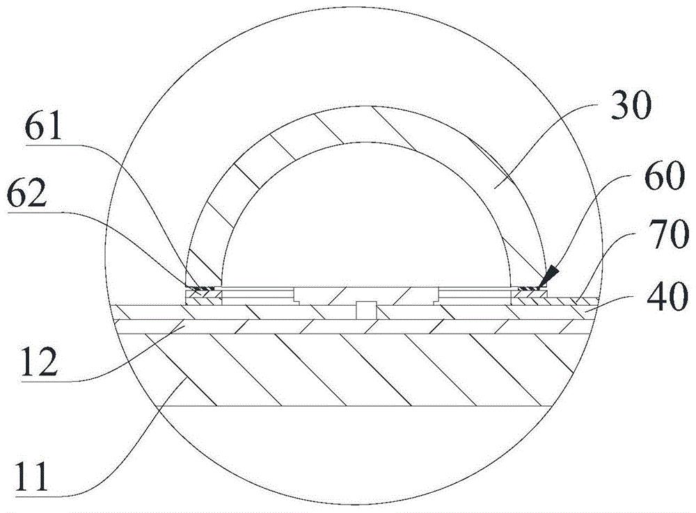 发光二极管封装结构及其制备方法