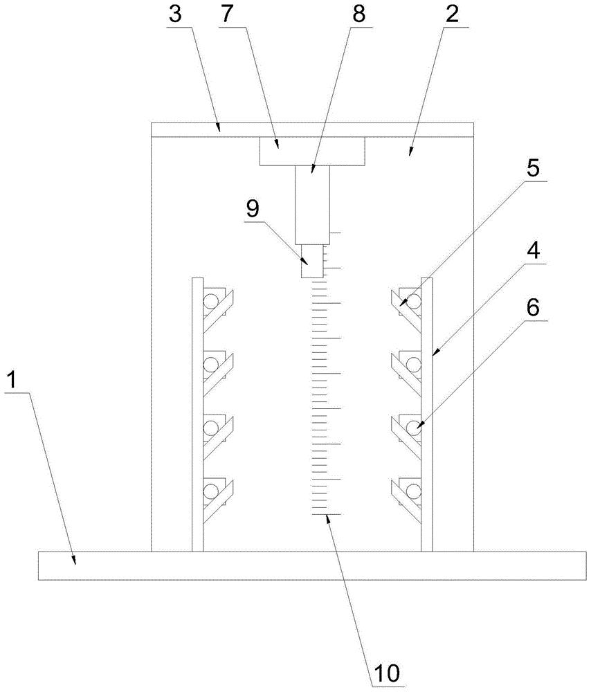 一种材料的弯曲性能测试装置
