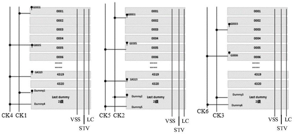 GOA电路结构、显示面板及显示装置
