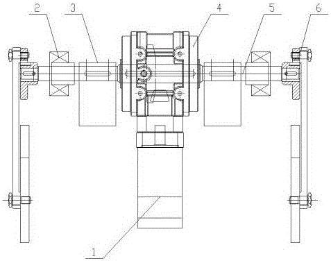 用于帘线弯曲疲劳试验机的传动装置