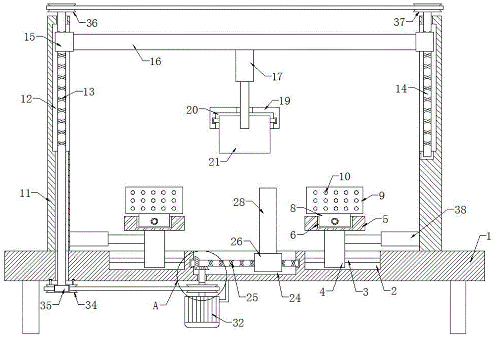 变温拉扭复合载荷材料力学性能原位测试装置