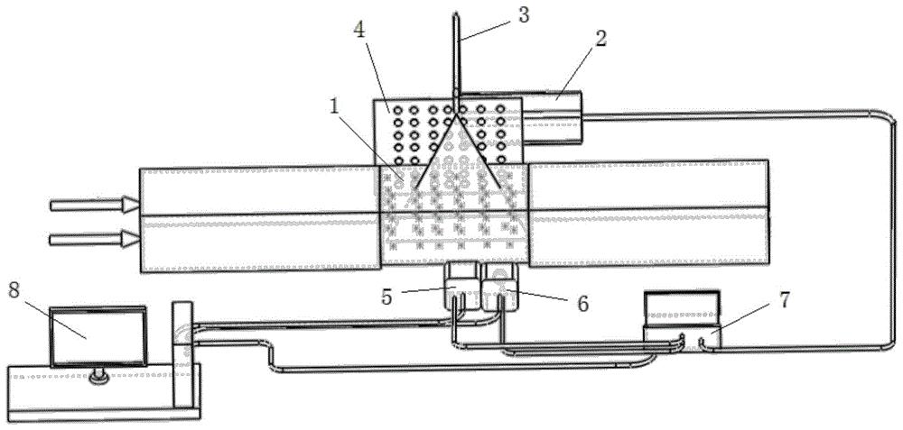 一种速度场和密度场同步测量系统及方法