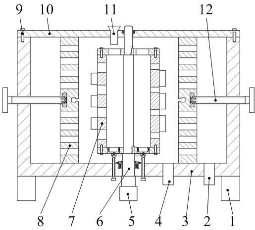 一种基于变径增压且先离心后旋压的筛浆设备