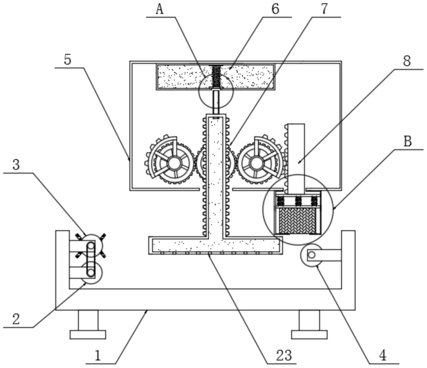 一种节能环保的纺织品加工用快速压平装置