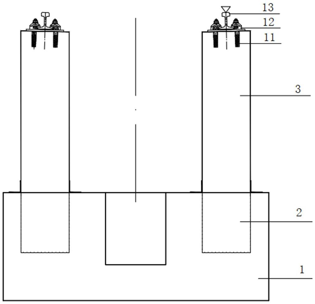 一种检查坑圆形预制柱结构及其安装方法
