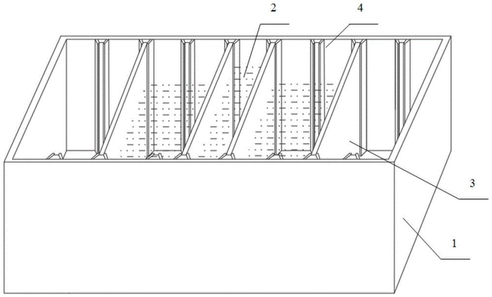 一种控制桥梁施工期抖振响应的水箱阻尼器