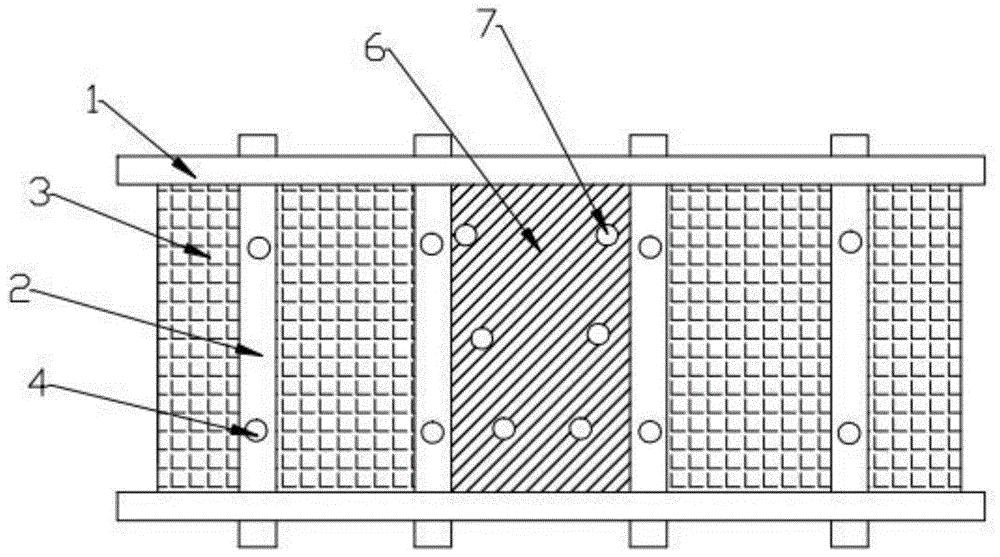 一种石膏板防裂缝结构及安装工艺