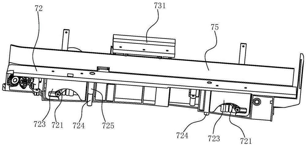 麻将机及其平推上牌装置和承牌板升降驱动机构