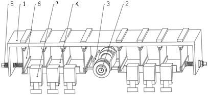 超精研加工用四轮驱动小幅高频直线振荡装置及使用方法