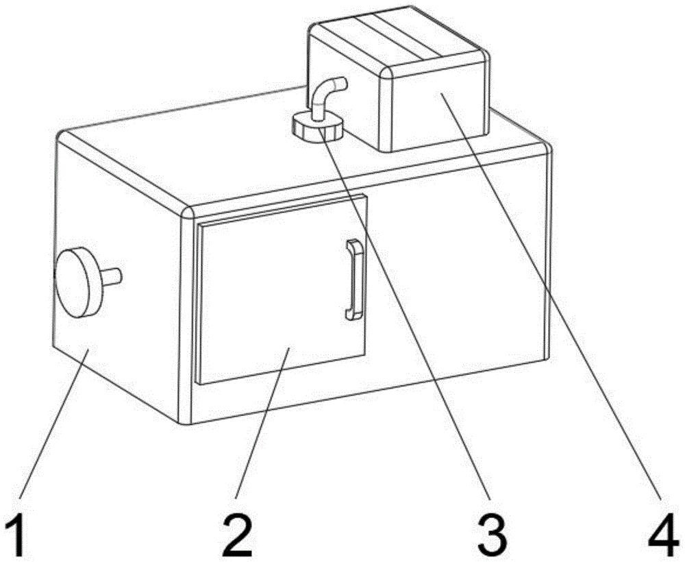 一种带除湿功能的高温循环烘箱