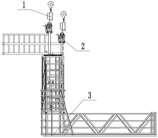 一种转体的桥梁检修设备