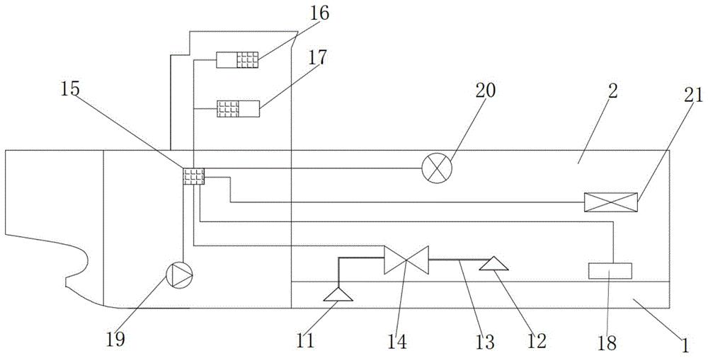 一种压载舱连通系统及船舶