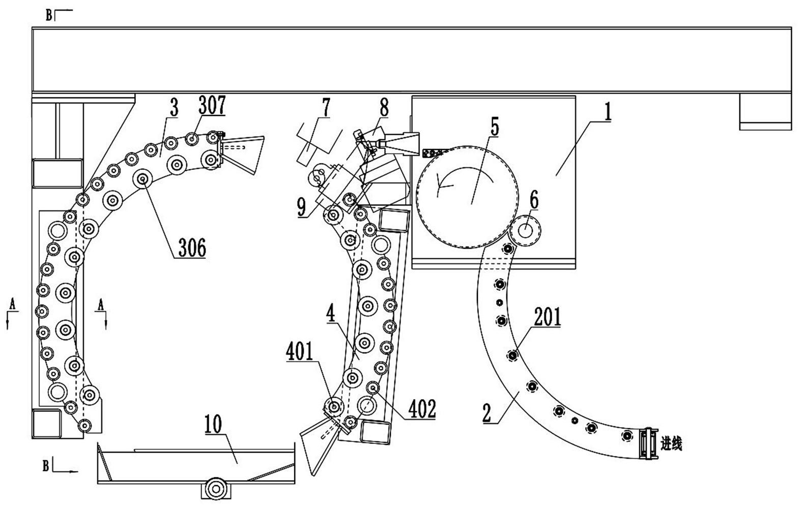 一种铜杆自动捆扎装置及自动捆扎方法
