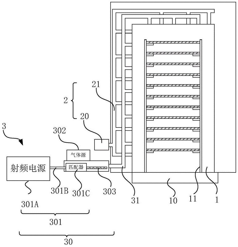 管式炉及半导体掺杂膜层制备方法