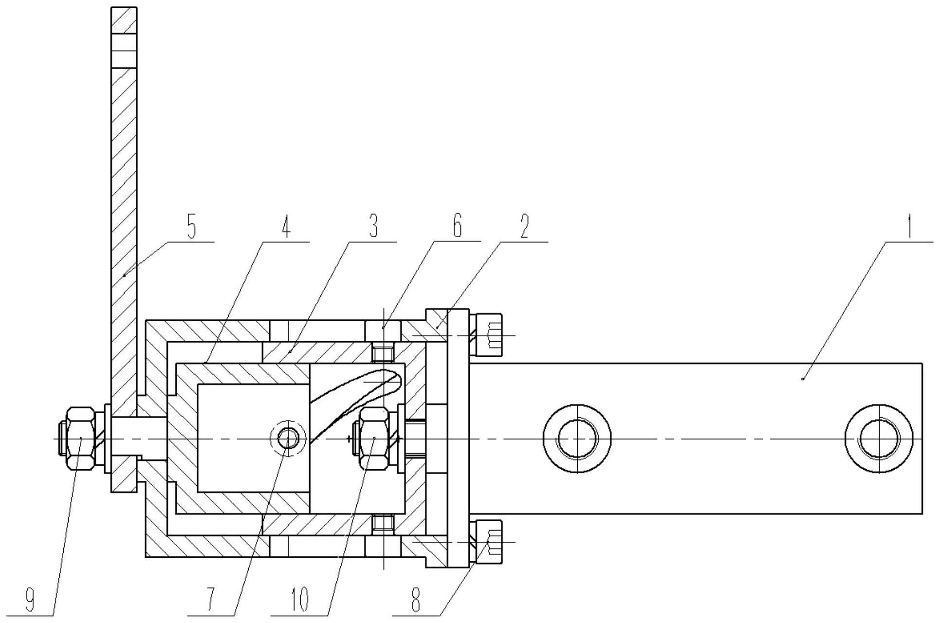 一种紧凑型摆动液压缸及其使用方法