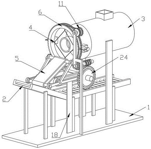一种枣糕切片用包装机