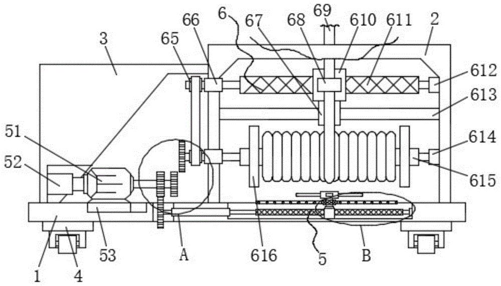 基于新能源充电桩用具有收纳线缆功能的束线装置