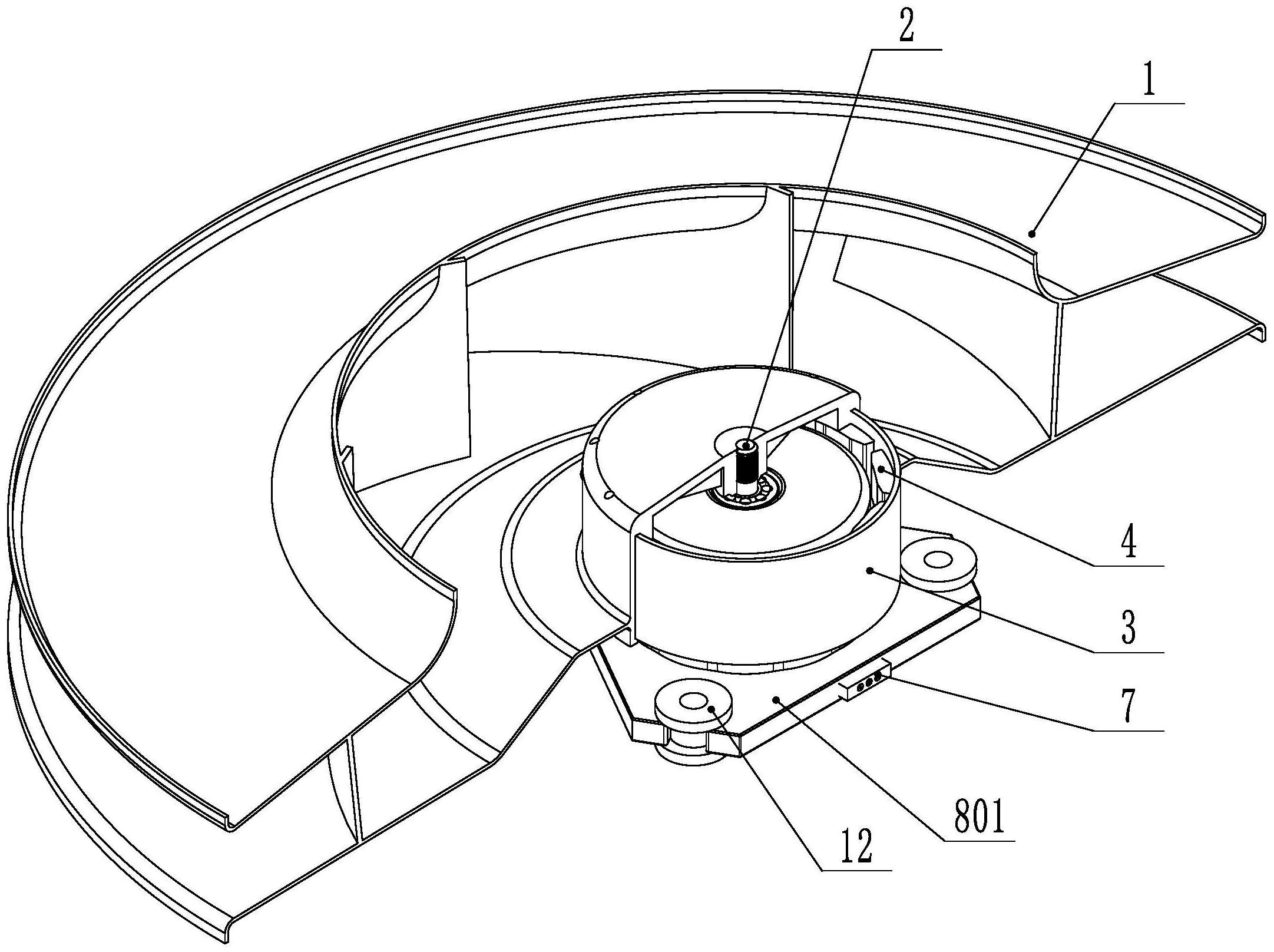 一种一体式永磁外转子风机模组