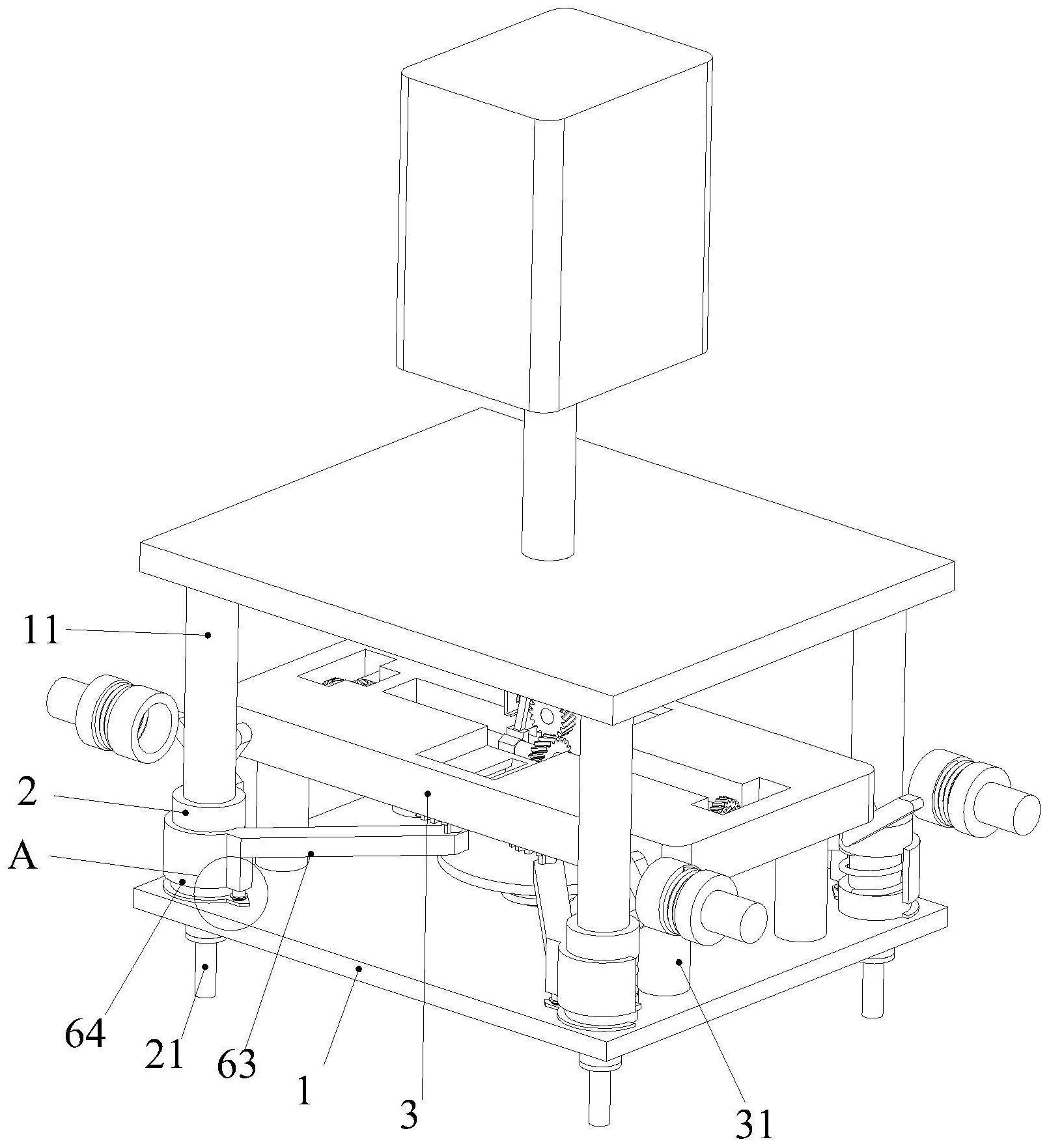 一种六角法兰螺栓冲头模具及其加工装置