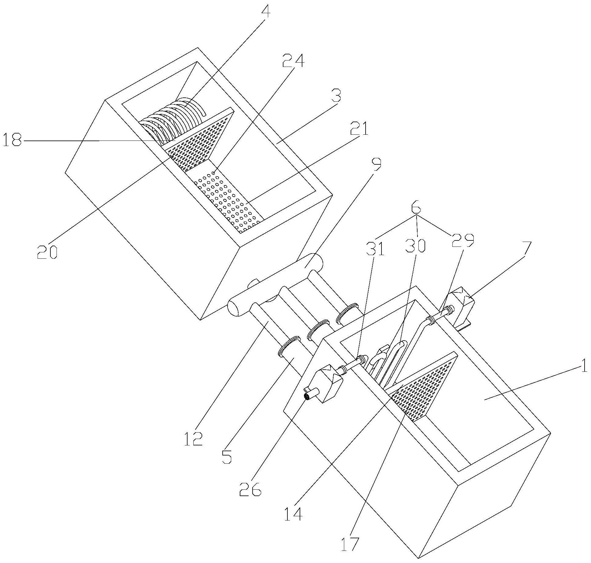 一种超高中空保暖聚酯长丝的制备方法及设备