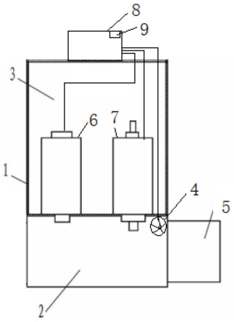 无线传输的六氟化硫密度质量变送装置、系统及变送器