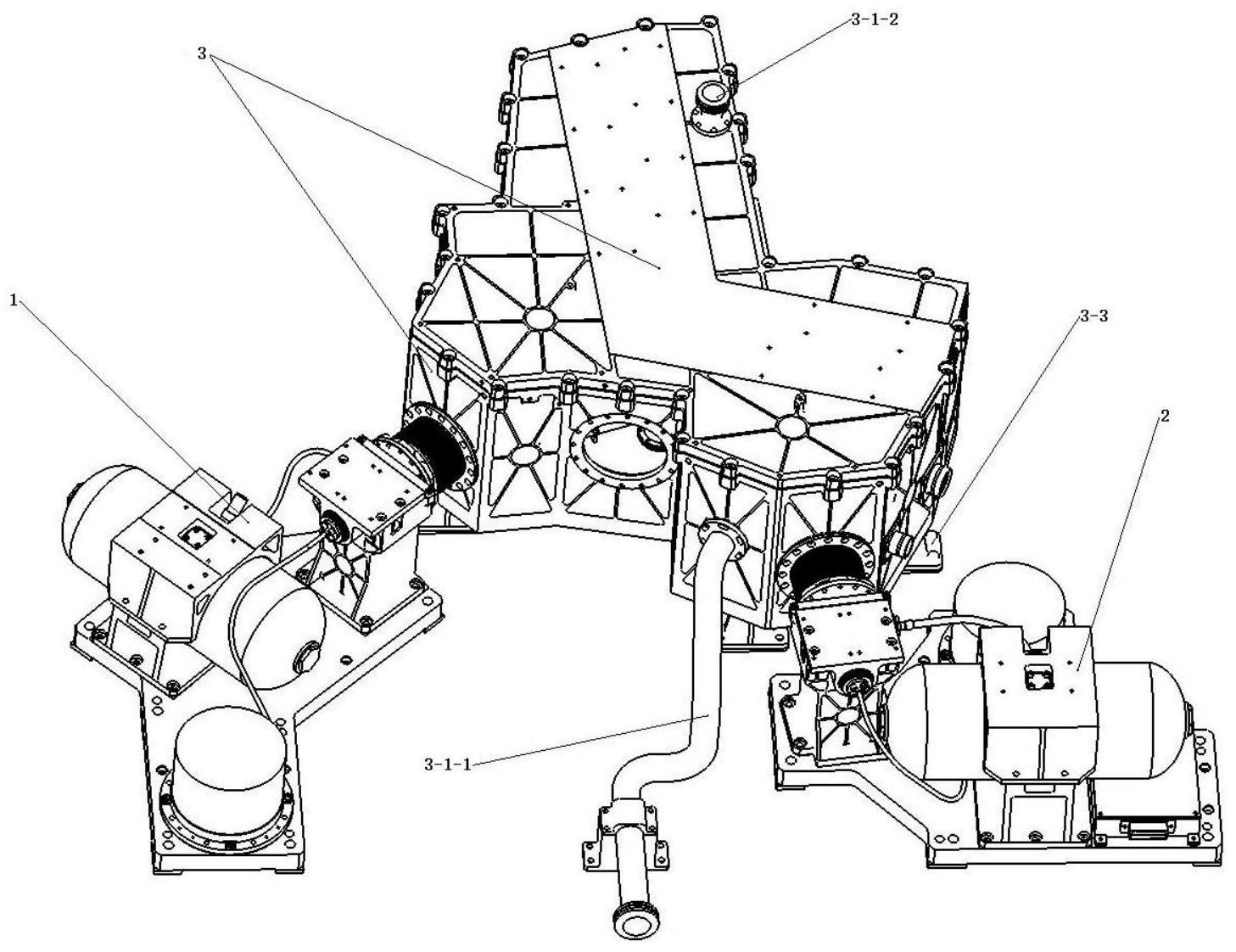 一种用于中长波红外高光谱遥感器背景辐射抑制的装置