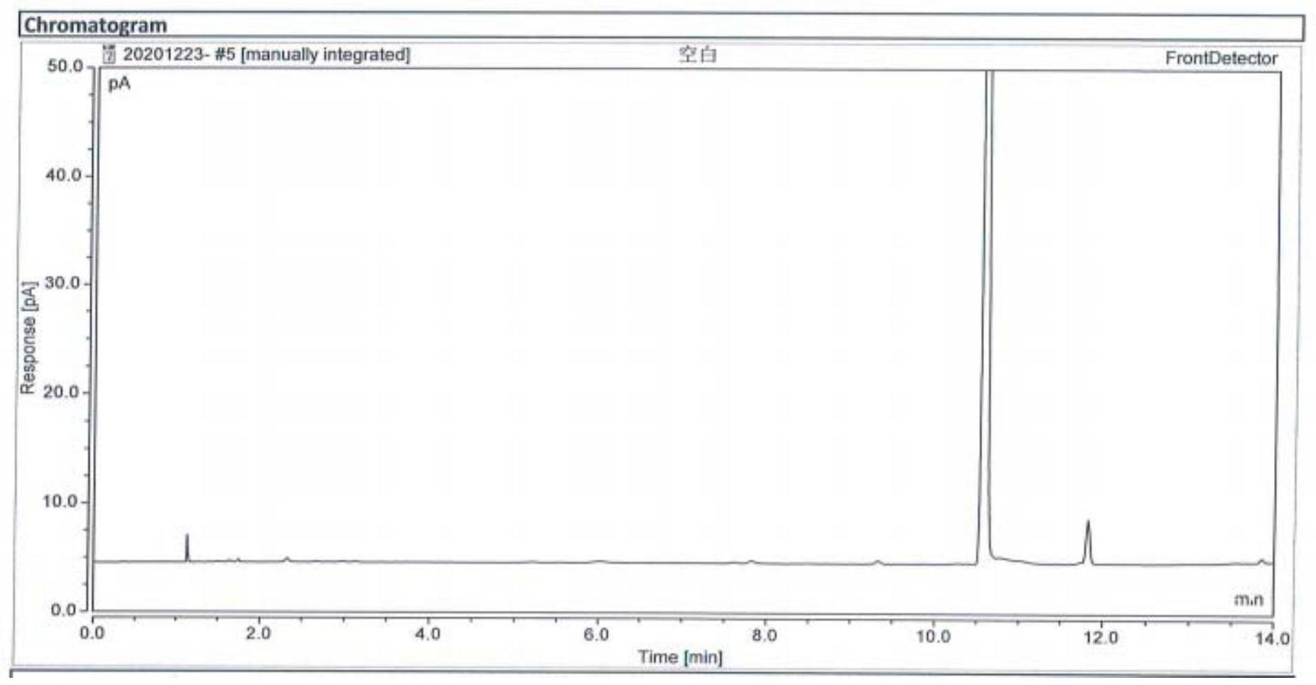 一种哌柏西利中残留溶剂的检测方法